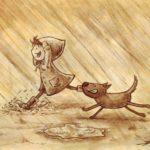 Trčanje po kiši